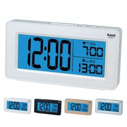 Sami Despertador Digital LED Doble Alarma LD-9811