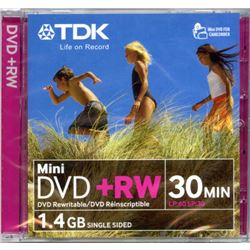 DVD+RW Mini 8cm Regrabable DMW+ - DMW+