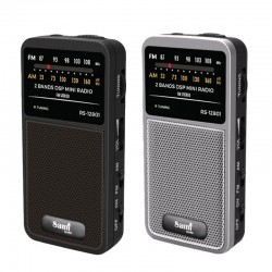 Sami Radio Am/Fm Mini Vertical C/Aur RS-12801