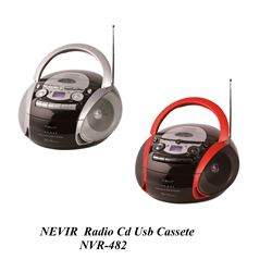 Nevir Radio Cd Cassete Usb NVR-482